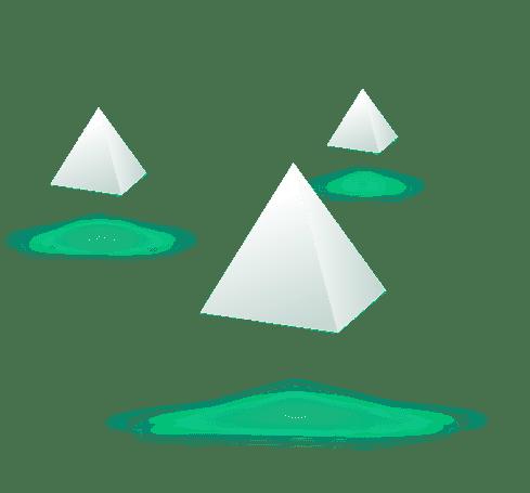 Moderan Pyramids